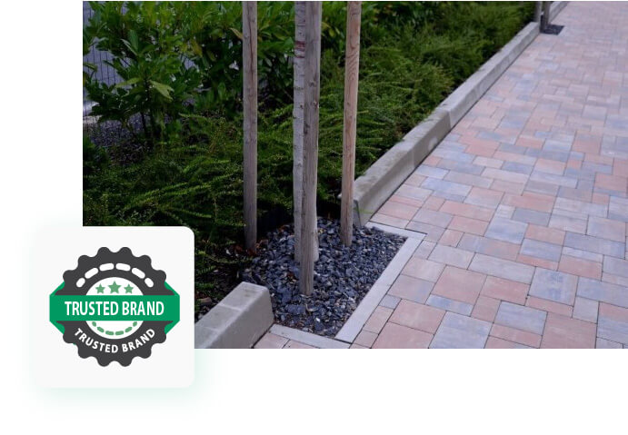 Driveway and pave stone